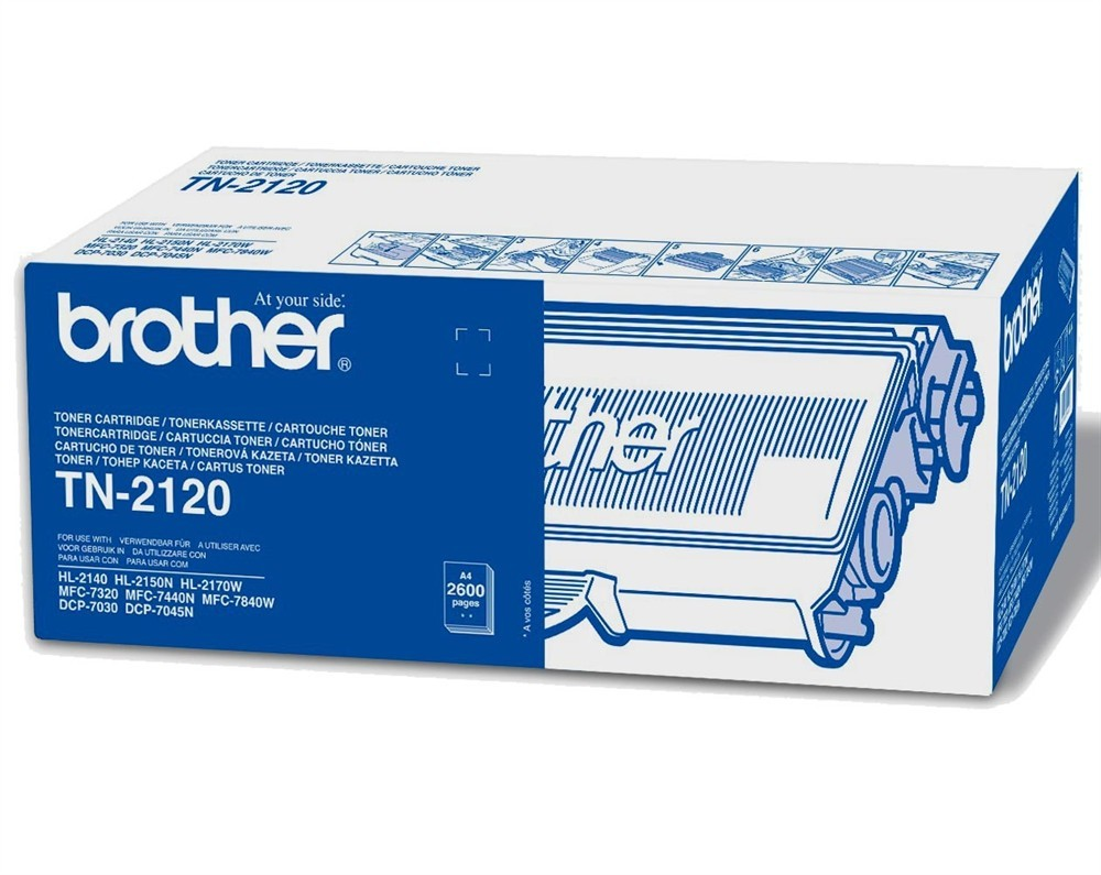 Brother High Capacity Laser Toner Cartridge TN-2120