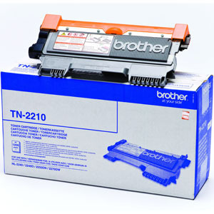 Brother Standard Capacity Black Toner Cartridge - TN-2210