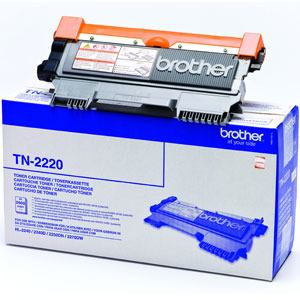 Brother High Capacity Black Toner Cartridge - TN-2220