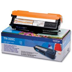 Brother Standard Capacity Cyan Toner Cartridge - TN-320C