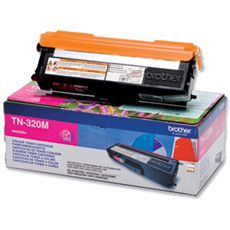 Brother Standard Capacity Magenta Toner Cartridge - TN-320M