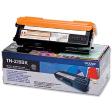 Brother Black Toner Cartridge - TN-328BK
