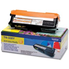 Brother Yellow Toner Cartridge - TN-328Y