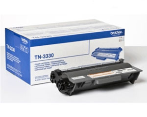 Brother TN3330 Standard Capacity Black Laser Cartridge - TN-3330, 3K Page Yield
