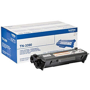 Brother TN3390 Super High Capacity Black Laser Cartridge - TN-3390, 12K Page Yield