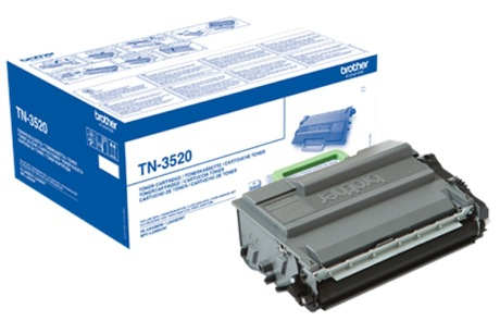 Brother TN3520 Ultra High Capacity Black Laser Cartridge - TN 3520, 20K Page Yield