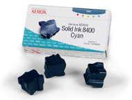 Xerox 3 Colorstix Solid Cyan Ink Wax Sticks, 3.4K Page Yield