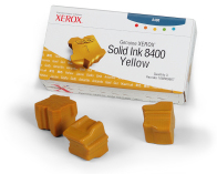 Xerox 3 Colorstix Solid Yellow Ink Wax Sticks, 3.4K Page Yield