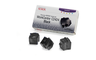 Xerox Solid Black Ink (Pack of 3 Sticks)