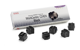 Xerox Solid Black Ink (Pack of 6 Sticks)