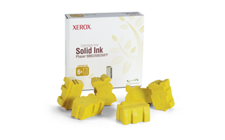 Xerox Solid Yellow Ink (Pack of 6 Sticks)