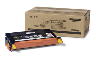 Xerox Standard Capacity Yellow Laser Toner Cartridge, 2K Page Yield