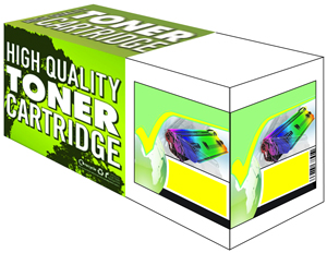 Yellow Toner Cartridge Compatible with Konica Minolta MagiColor QMS 1710589-005