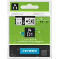 40913: Dymo 40913 Black On White Labelling Tape 9mm x 7m (S0720680 Tape)