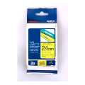 TZE-651: Brother TZE-651 Laminated Tape Black on Yellow, 24mm x 8m (TZe651)