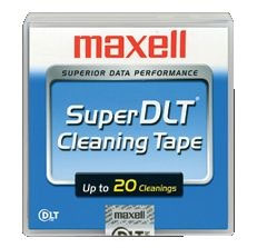 22898500: Maxell Super DLT Tape Head Cleaning Cartridge