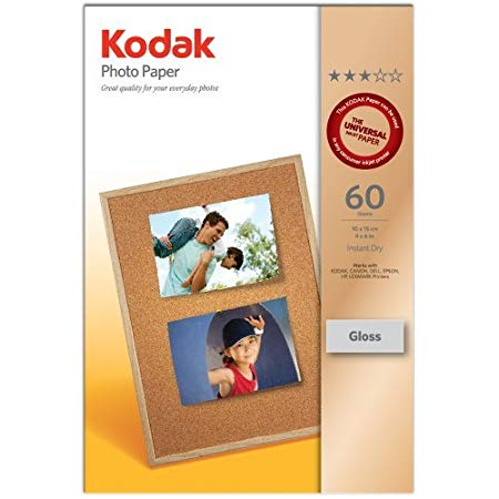 3937224: Kodak Genuine Glossy Photo Paper (4
