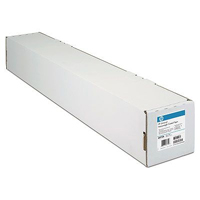 C6036A: HP C6036 Matte Finish Bright White Inkjet Paper Roll, 91.4cm x 45.7m, 90gms, 36