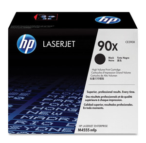 HP LaserJet 4 CE390X HP CE390X High Capacity Black (90X) Toner Cartridge - CE 390X