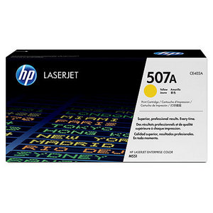 HP LaserJet 4 CE402A HP CE402A Yellow (507A) Toner Cartridge - CE 402A