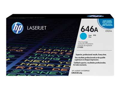 HP LaserJet 4 CF031A HP Cyan Toner Cartridge - CF031A