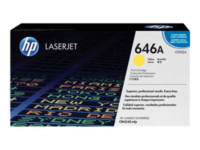 HP LaserJet 4 CF032A HP Yellow Toner Cartridge - CF032A