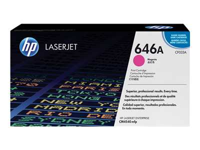 HP LaserJet 4 CF033A HP Magenta Toner Cartridge - CF033A