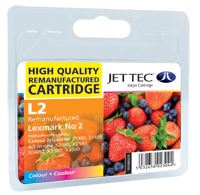 Lexmark 18C0190 Ink Cartridge L2 Replacement Colour Ink Cartridge (Alternative to Lexmark No 2, 18C0190E)