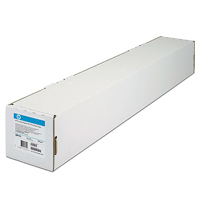 Q1444A: HP Matte Finish Bright White Inkjet Paper Roll - 841mm x 45.7m Roll, 90gms