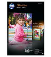 Q1992A: HP Premium Glossy Photo Paper, 4x6, 100x150mm, 240g/m2, 60 Sheets