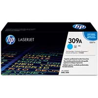 HP LaserJet 3500 Q2671A HP Original 309A Cyan Laser Toner Cartridge - Q2671A
