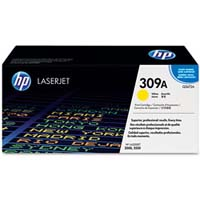 HP LaserJet 3500 Q2672A HP Original 309A Yellow Laser Toner Cartridge - Q2672A
