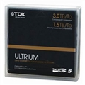 T61857: TDK LTO5 Ultrium 1.5TB-3.0TB Data Cartridge