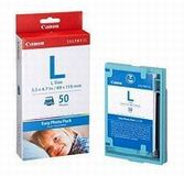 E-L50: Canon E-L50 Color Ink Cartridge plus 50 Sheets 3.5