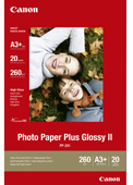 PP-201A3Plus: Canon Genuine Photo Paper Plus Glossy II A3 Plus -260gsm - 20 Sheets