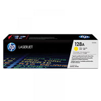 HP LaserJet 4 CE322A HP CE322A Yellow (128A) Toner Cartridge - CE 322A