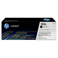 HP LaserJet 4 CE410X HP CE410X High Capacity Black (305X) Laser Toner Cartridge - CE 410X, 4K Page Yield