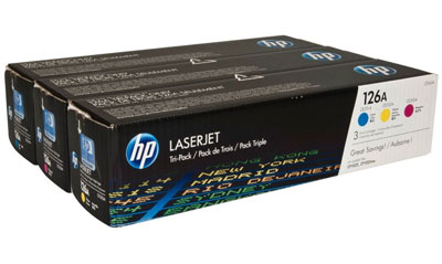HP LaserJet 4 CF341A HP CF341A Toner Cartridge for 126A LaserJet Printers
