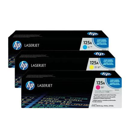 HP LaserJet 4 CF373AM HP CF373AM Toner Cartridges for 125A LaserJet Printers
