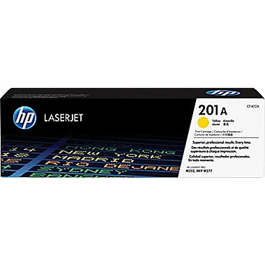 HP LaserJet 4 CF402A HP 201A Yellow Toner Cartridge, 1.4K Page Yield