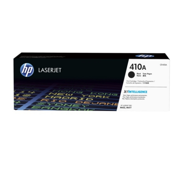 HP LaserJet 4 CF410A Black HP 410A Toner Cartridge, 2.3K Page Yield - CF410A
