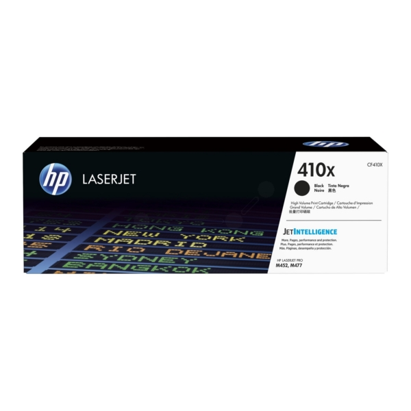 HP LaserJet 4 CF410X High Capacity Black HP 410X Toner Cartridge, 6.5K Page Yield