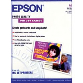 S041054: Epson S041054 Genuine Photo Quality Matte Paper Post Cards, 4