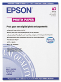 S041142: Epson S041142 Genuine Photo Paper, A3 Size, 11.7
