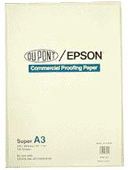 S041161: Epson S041161 Genuine Commercial Proofing Paper A3 Plus Size