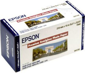 S041336: Epson S041336 Genuine Premium Semigloss Paper Roll, 210mm x 10m