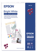 S041749: Epson S041749 Genuine Bright White Inkjet Paper, 500 Sheets