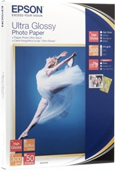 S041926: Epson S041926 Genuine Ultra Glossy Photo Paper, 20 Sheets, 4x6, 20 Sheets