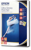 S041943: Epson Ultra Glossy Photo Paper, 50 Sheets