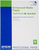 S042095: Epson Genuine Enhanced Matte Paper, A2 Size